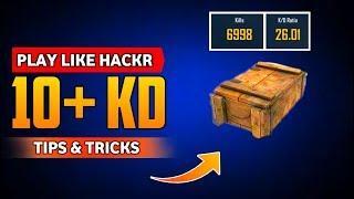 10+ KD Ratio - How to Increase KD Ratio In Pubg Mobile • Pubg Mobile Tips And Tricks