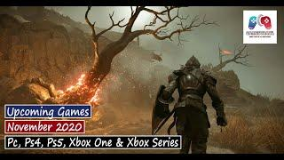 Best Upcoming New Games November 2020 - PC, PS4, PS5, Xbox One & Xbox Series   GamesTrack