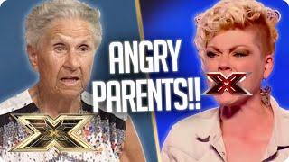 Parents CLASH with Simon Cowell! | The X Factor UK