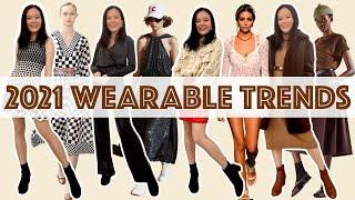 TOP 10 WEARABLE TRENDS | 2021 fashion trends, styling tips, trendy outfit ideas, what to wear now