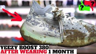 After Wearing 1 month: YEEZY BOOST 380 ALIEN Pros & Cons