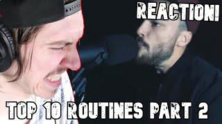 ACCURATE YET AGAIN! | Top 10 Beatbox Routines! Part 2 REACTION!