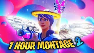 1 HOUR Fortnite Montage! BEST Trickshots & Snipes 2