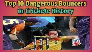 Top 10 Dangerous Bouncers to injured Batsman in Crickete history