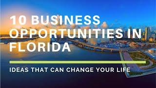 Business ideas | 10 Most profitable business in Florida, Best Business to start, business ideas 2020