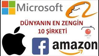 DÜNYANIN EN ZENGİN 10 Şirketi, Top 10 companies