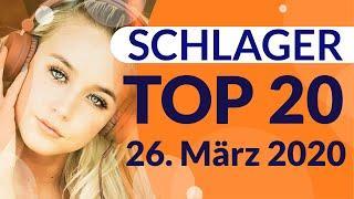 SCHLAGER CHARTS 2020 - Die TOP 20 vom 26. März