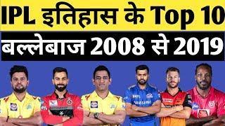 IPL 2020 : Top 10 batsman in IPL history   Top 10 batsmen in IPL with most runs