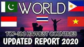 Top 100 Happiest Countries In The World|Happiness Report 2020|Mister AB.Rehman