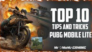 PUBG MOBILE LITE | Top 10 Tricks &Tips | ultimate guide to Become a pro| part 2 |MR MoMz gaming