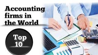 Top 10 Accounting firms in the world(2020)||Professional service providing firms||
