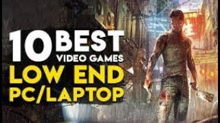 Top 10 Games Which Can Run on Low End PC | High Graphics | 4gb Ram | Intel HD Graphics | 512 MB GPU