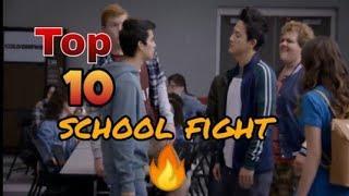 Top 10 School fight scenes #satisfya