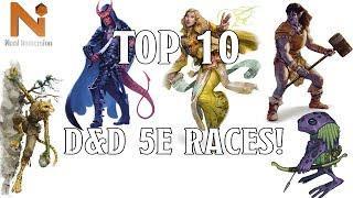 Top 10 D&D 5e Races | Nerd Immersion