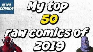 My TOP 50 comic purchases of 2019 (Ungraded)