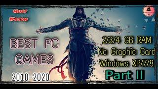 Top 10 Games for Low end PC (No Graphic Card) Part II