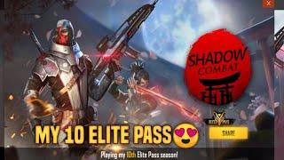 Purchasing My 10th Elite Pass-Free Fire | Shadow Combat | Tazro Gaming