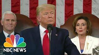 Trump Touts Job Creation, Unemployment Numbers In State Of The Union Address | NBC News