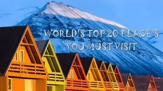 WORLD's TOP 10 PLACE's | MUST VISIT PLACE ON THIS EARTH
