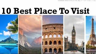 Top 10 Best Place In The World To Visit | Spooky Fact