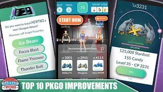 TOP 10 BEST FEATURES NEEDED TO MAKE POKÉMON GO AMAZING IN 2020 | POKÉMON GO UPDATE