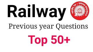 Railway NTPC, Group D Previous year Questions// Top 50 GK By Saurabh sir