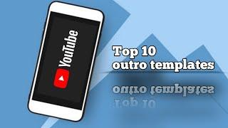 Top 10 YouTube end screen/outro template free DOWNLOAD| AD maker's