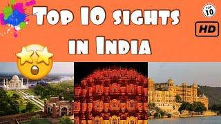 Top 10 sights in India 4k