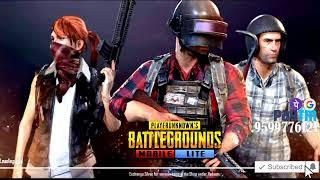 PUBG MOBILE LITE LIVE STREAM NEW UPDATE LIVE FULL RUSH GAMEPLAY WITH GIRL GAMER MANVI YT