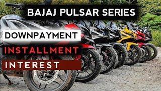 Bajaj Pulsar Series Bikes | DOWNPAYMENT | Monthly EMI | INTEREST | Auto Gyann