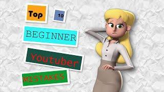 Top 10 Mistakes Beginner YouTubers Make