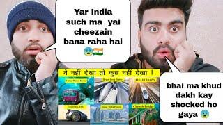 Pakistani Reacting on Top 10 Mega Transportation Project in India By 2050 by | Pakistani Bros |