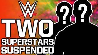 Two WWE Superstars Suspended For Wellness Policy Violations