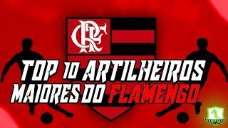 Top 10 Maiores artilheiros da história do Flamengo - STREET SOCCER -