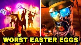 TOP 10 WORST EASTER EGGS IN ZOMBIES.