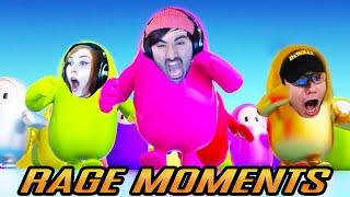 *TOP BEST RAGE MOMENTS COMPILATION* STREAMERS FUNNY FAILS Fall Guys: Ultimate Knockout #25