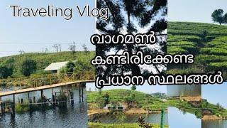 Traveling vlog malayalam  Top places to visit vagaman  kerala tourism  travel information video