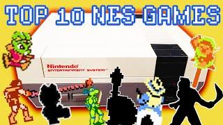 TOP 10 - Nintendo Entertainment System Games!
