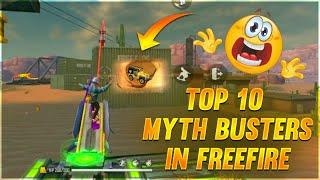 Top 10 Myth Busters In Tamil || Free Fire Tricks Tamil