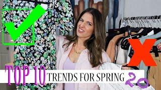 SPRING fashion you NEED! Top 10 Fashion Trends I am LOVING for SPRING 2020! Trendy girl on a BUDGET