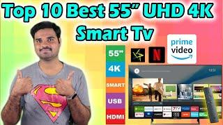 ✅ Top 10 Best 55 inches 4k Smart TVs in India With Price 2020 | 4k TV Review & Comparison