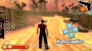 Top 10 PSP Action Games For Android PPSSPP High Graphics