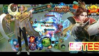 Best support/ in the word/ Estes perfect gameplay/ Top 1 Golbal ESTES/mlbb/ King support 2020l Khmer