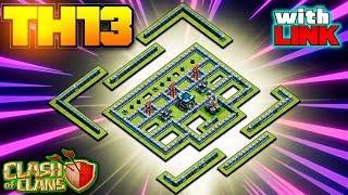 *FUZZ* BEST TH13 WAR BASE 2020 Anti 3 Star - Best Town Hall 13 War Base w/ Link Clash of Clans