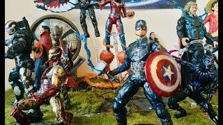 My Avengers Endgame Action Figure Collection (Custom Marvel Legends, Marvel Select and S.H.Figuarts)