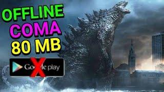 Game Godzilla Terbaik di Android OFFLINE COMA 80 MB dari (LINK DOWNLOAD)