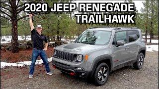 First Look: 2020 Jeep Renegade Trailhawk 4x4