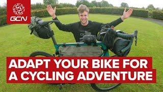 How To Set Up Your Road Bike For Adventure Riding And Bike Packing