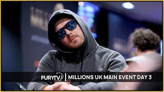 MILLIONS UK Poker Main Event 2020 - Episode 2 (Day 3)