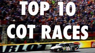 Top 10 Races of the COT Era